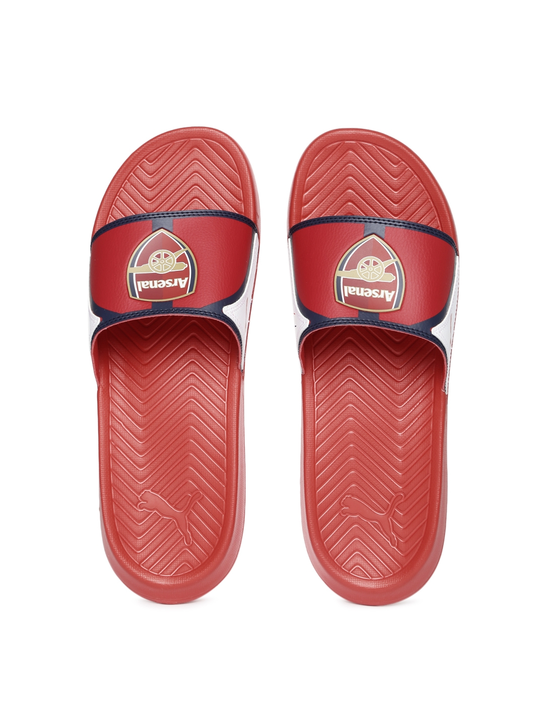 c961ada1a719 Buy Puma Men Red Popcat AFC Printed Flip Flops - Flip Flops for Men ...