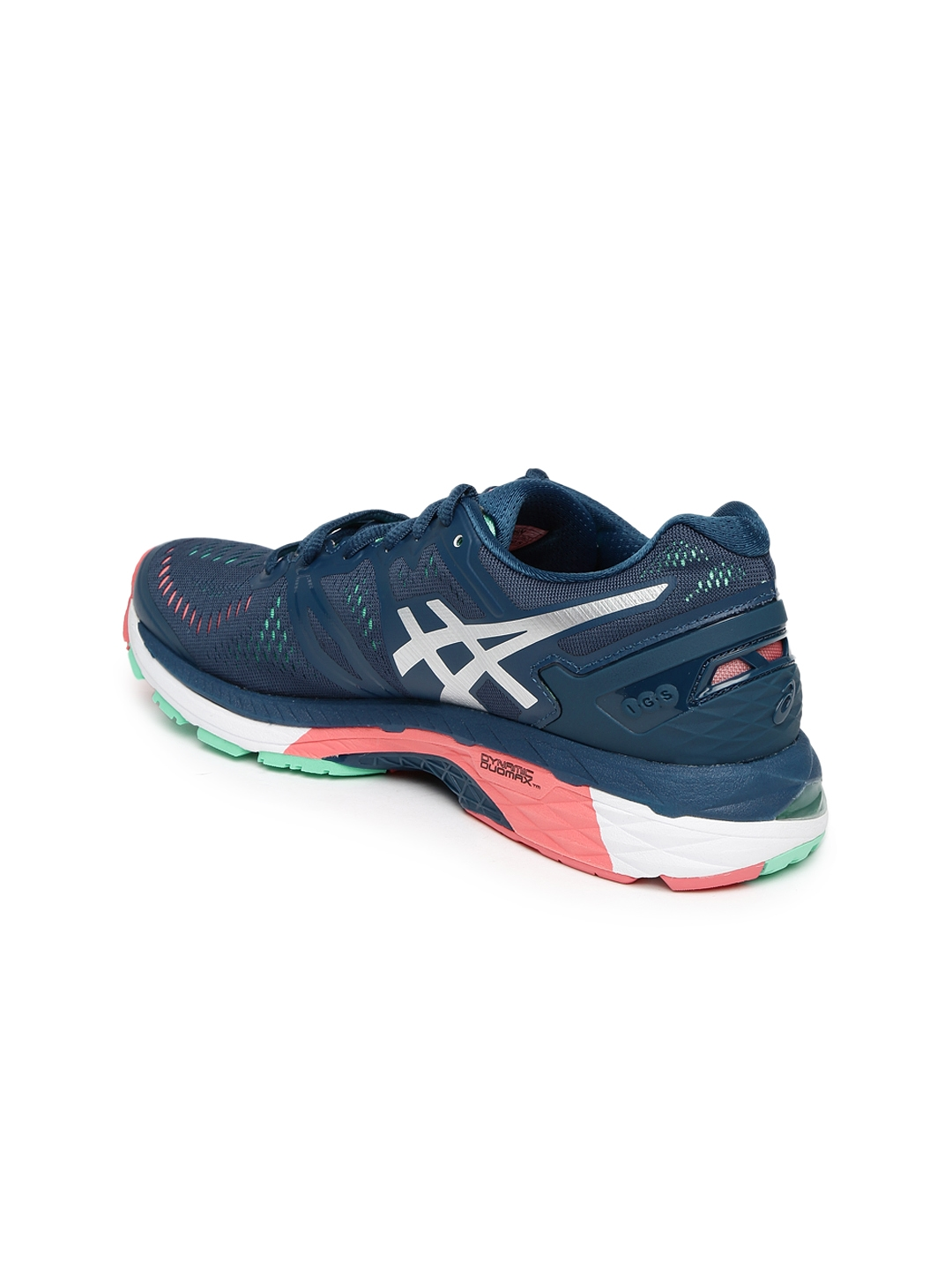 8f8df9e03fbed4 Buy ASICS Women Navy Blue Gel Kayano 23 Running Shoes - Sports Shoes ...