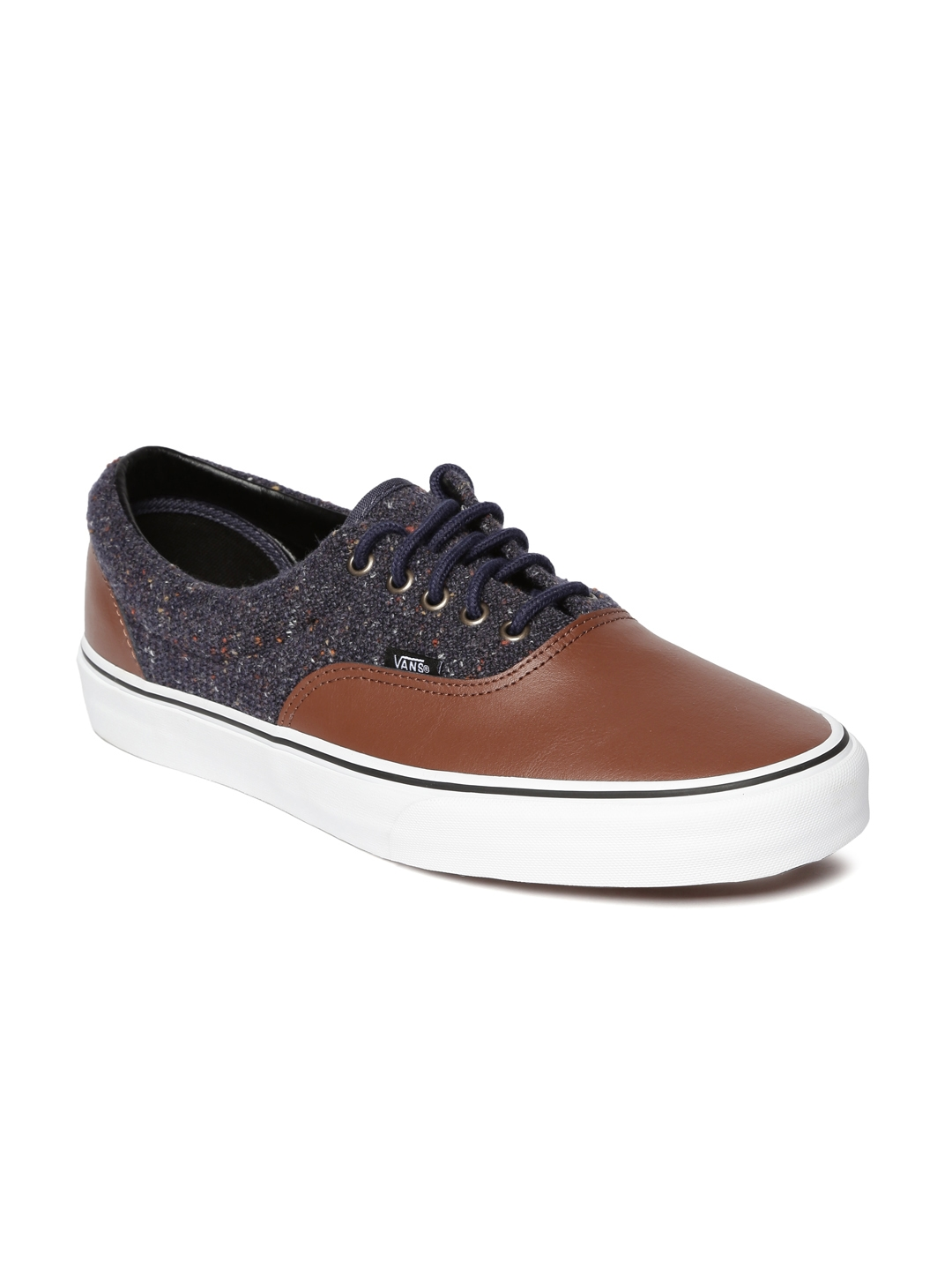 24a5a7d0cb Buy Vans Unisex Brown   Navy Colourblock Era Sneakers - Casual Shoes ...