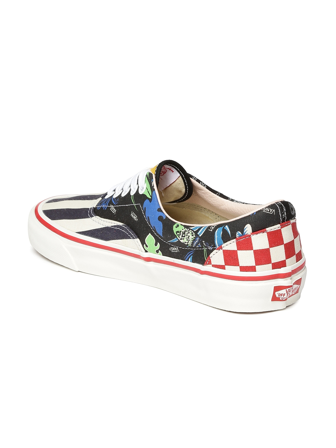 30abf65034 Buy Vans Unisex Navy   White Printed Sneakers - Casual Shoes for ...