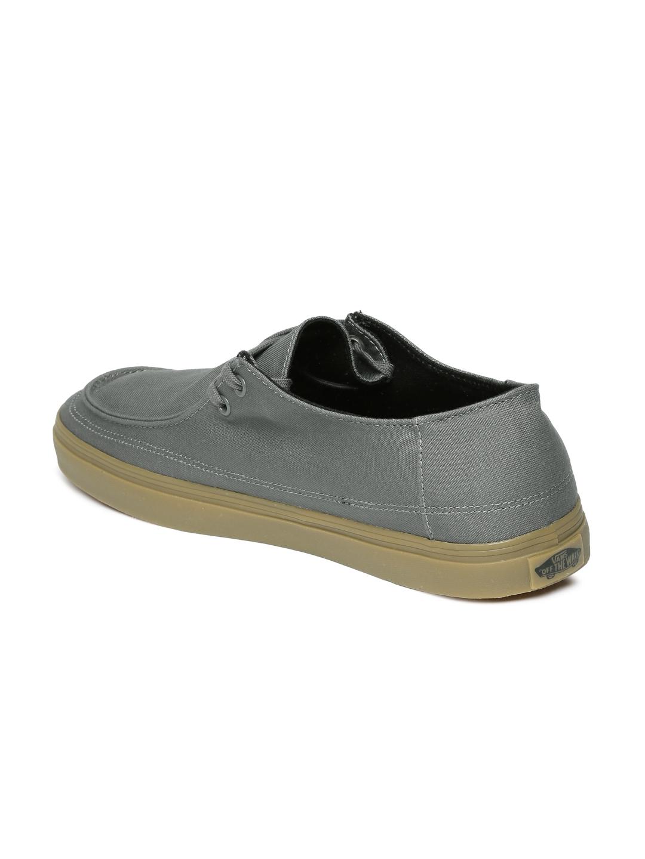 Buy Vans Men Grey Solid Rata Vulc SF Sneakers - Casual Shoes for Men ... 4fd96c1225