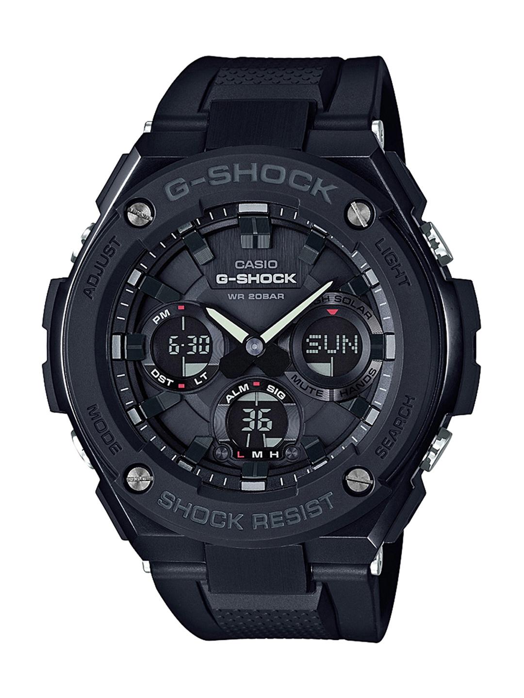dbd097778f0 CASIO G-Shock Men Black Analogue   Digital Solar Chronograph Watch G692