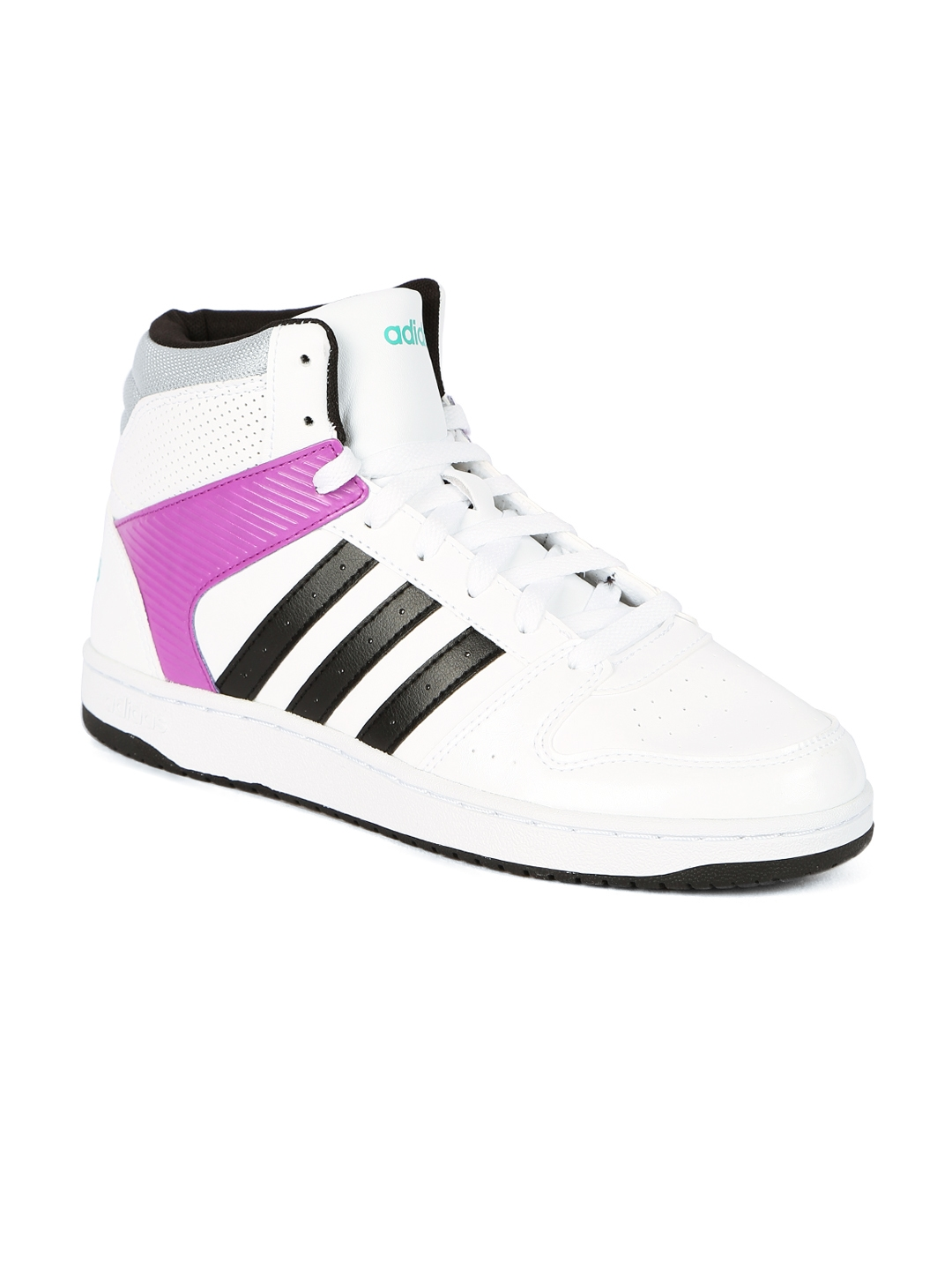 new style 035dc b7a47 ADIDAS NEO Women White VS HOOPSTER Sneakers