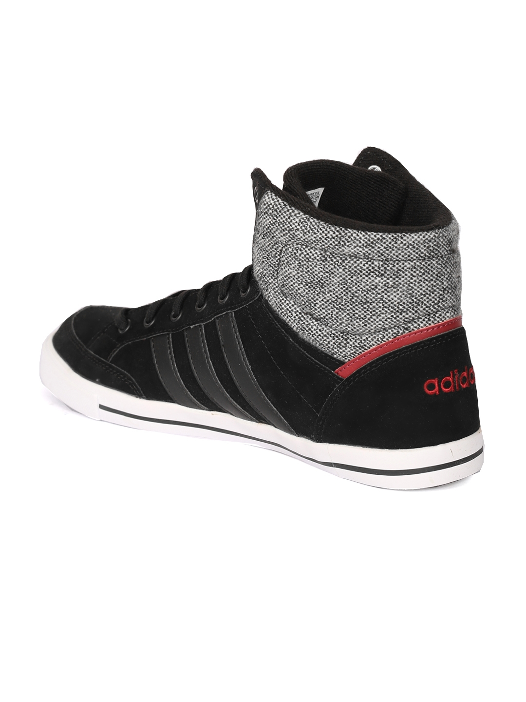 Buy ADIDAS NEO Men Black Cacity Mid Sneakers - Casual Shoes for Men ... 6984f1d35