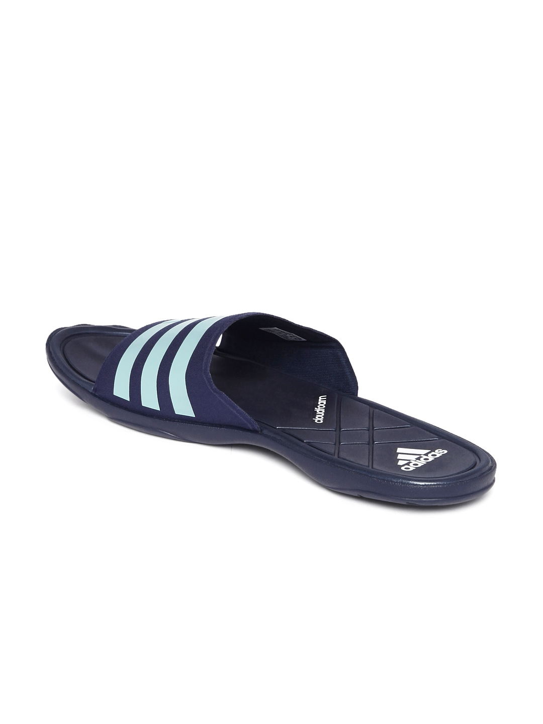 7d1945710 Buy ADIDAS Men Navy   Light Blue Adipure CF Striped Flip Flops - Flip Flops  for Men 1501476