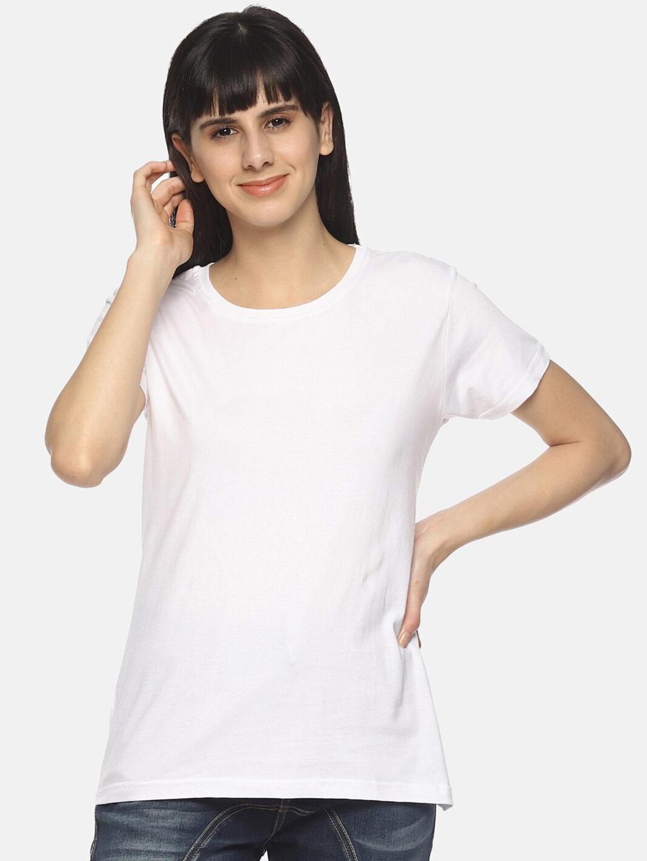 Young Trendz Women White T shirt