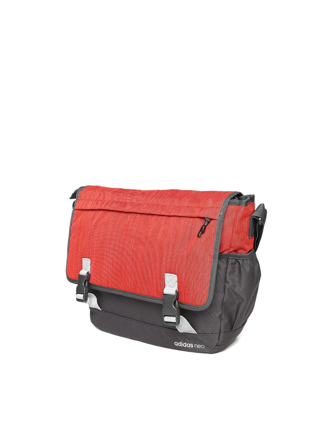Buy ADIDAS NEO Men Rust Orange   Grey Trendy Messenger Bag ... 1c1f4195a405f