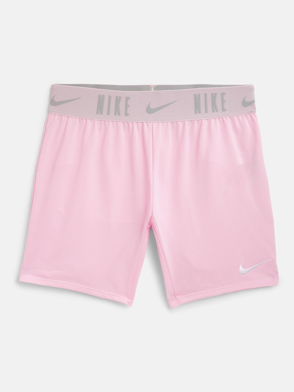 Nike Girls Pink DF Trophy Sports Shorts