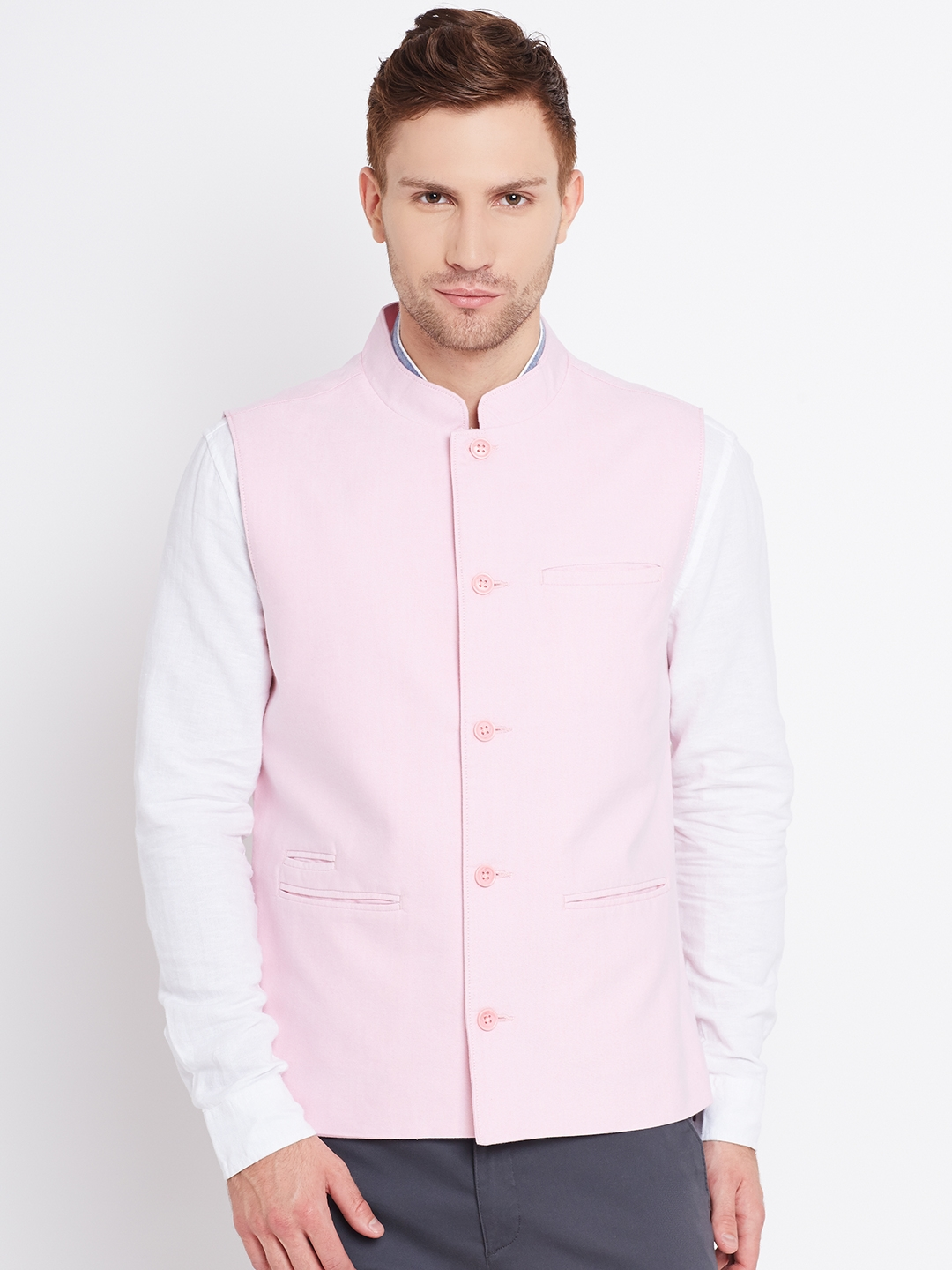 Men Pink Jackets - Buy Men Pink Jackets online in India