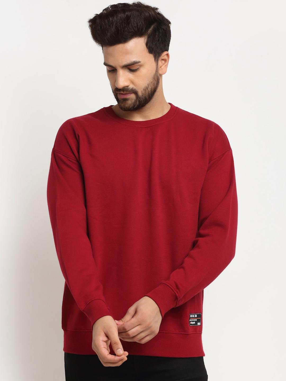 Club York Men Red Sweatshirt