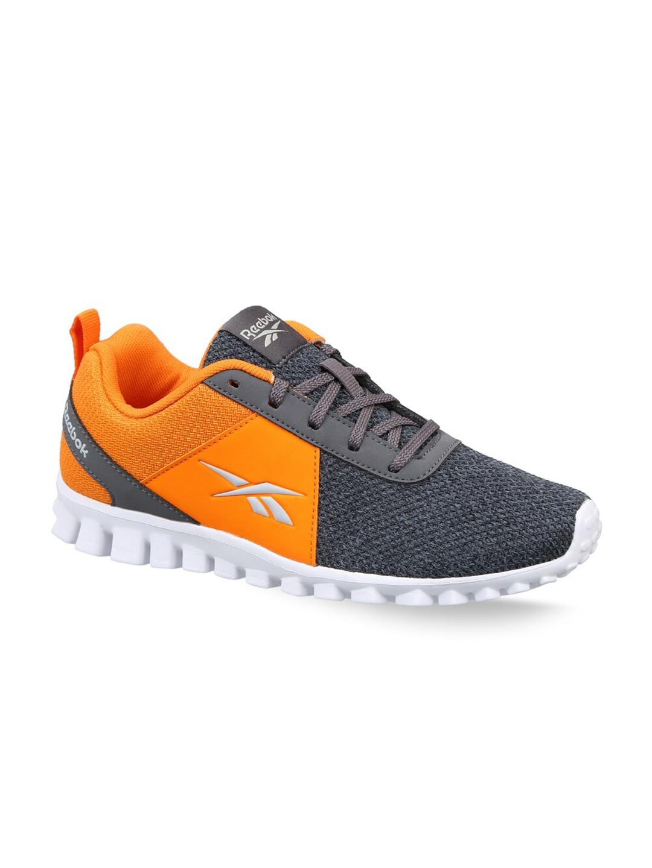 Reebok Boys Grey   Orange Running Non Marking Shoes