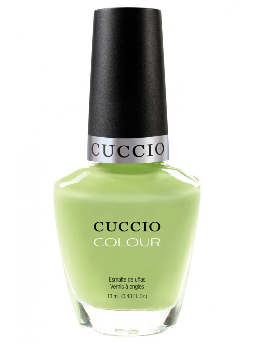 Cuccio Unisex Lime Green Nail Enamel   In the key of Lime