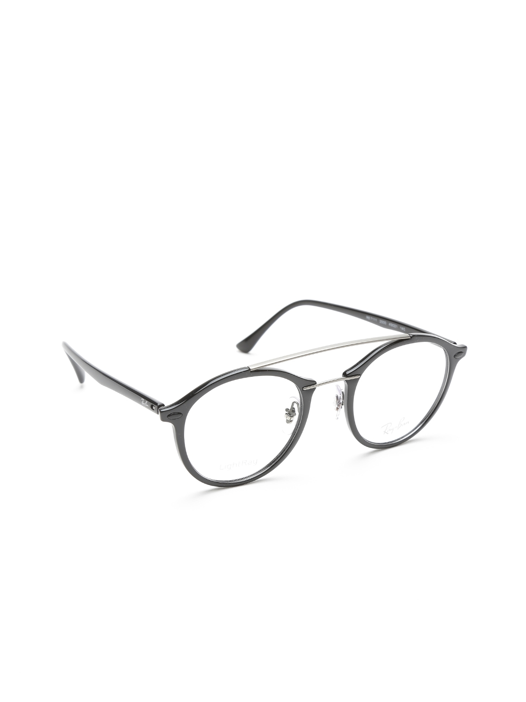 27c5318737a Buy Ray Ban Women Black Round Frames 0RX7111200049 - Frames for ...