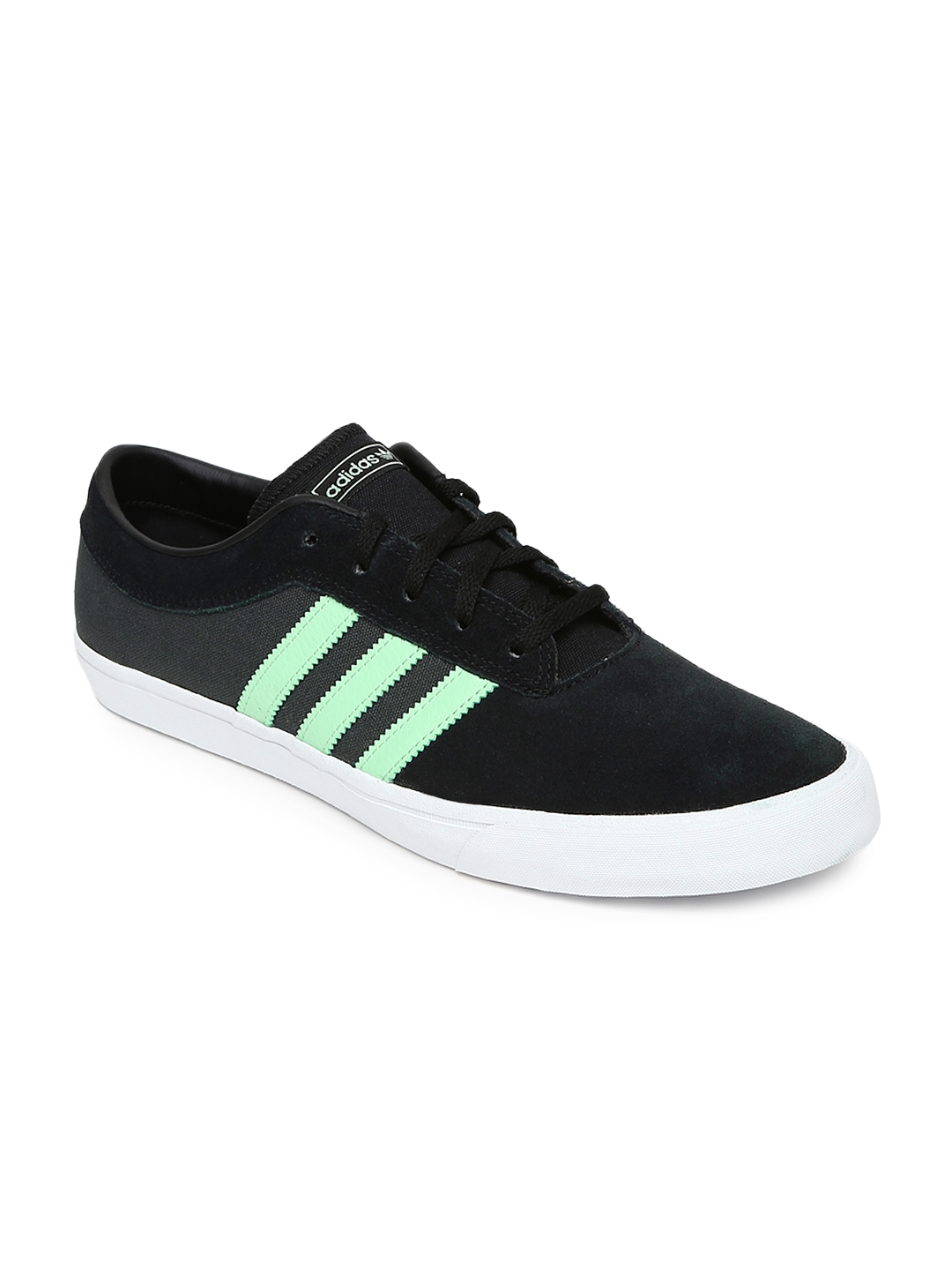 2c111ac5b6f Buy ADIDAS Originals Men Black Colourblocked Sellwood Skateboard Shoes -  Casual Shoes for Men 1525192