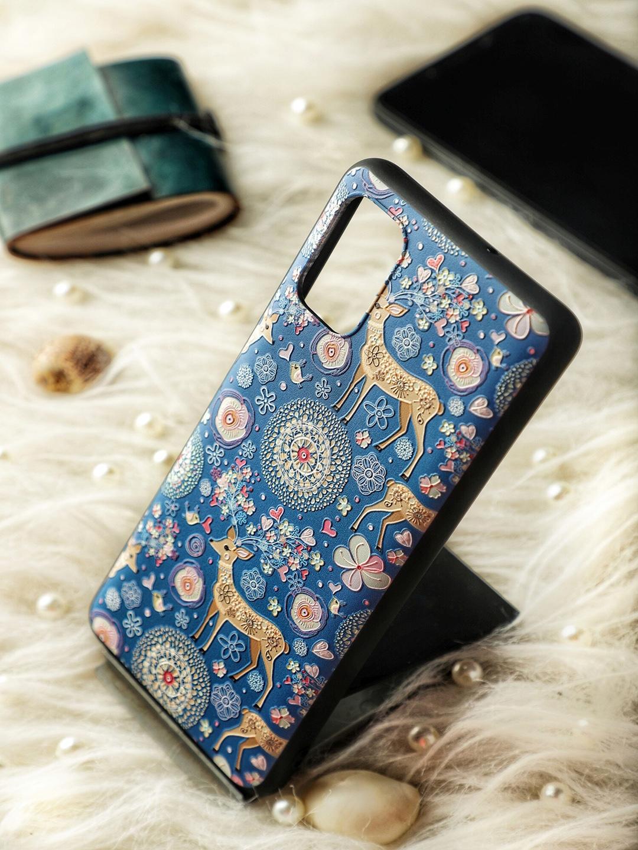 DOOBNOOB Unisex Blue   Brown Apple iPhone 12 Back Case
