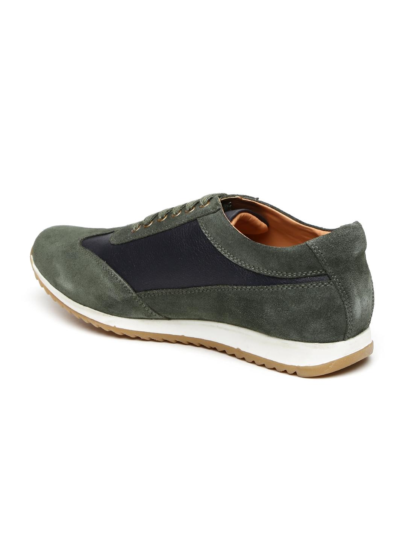 01fc6b5dc1 Buy Bata Men Green Colourblock Regular Sneakers - Casual Shoes for ...