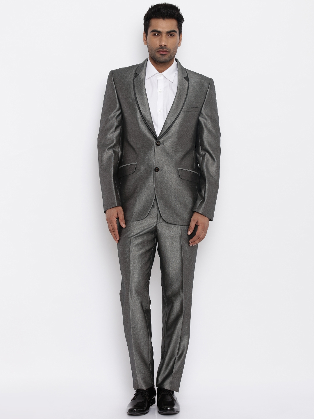 Grey Suits - Buy Grey Suits Online - Myntra