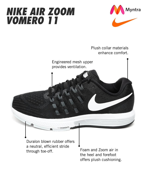 c2cf218012a Buy Nike Women Black Running Shoes - Sports Shoes for Women 1547889 ...