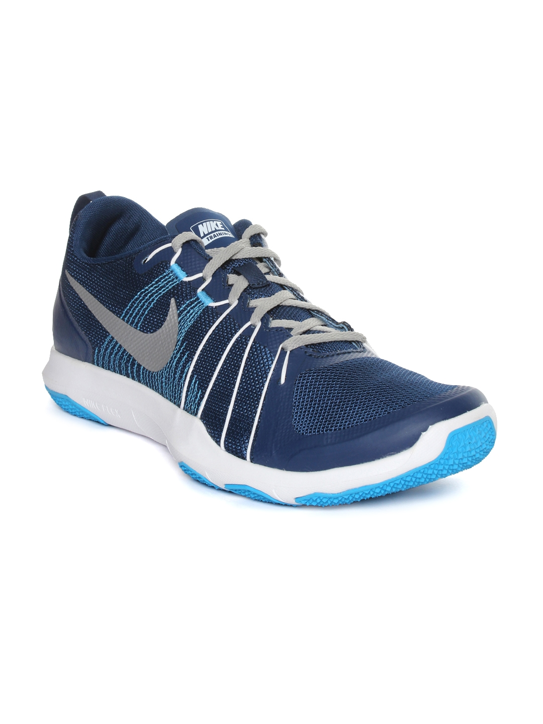 Buy Nike Men Navy Blue Flex Training Shoes - Sports Shoes for Men ... a75a1f62e25d