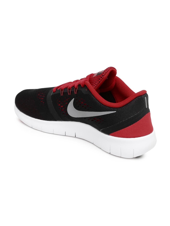 6c9d3e00d5ba Buy Nike Boys Black   Red Free RN GS Running Shoes - Sports Shoes ...