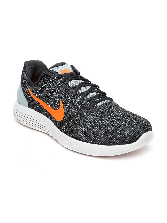 Buy Nike Men Charcoal Grey Lunarglide 8 Running Shoes - Sports Shoes ... 976ad22de