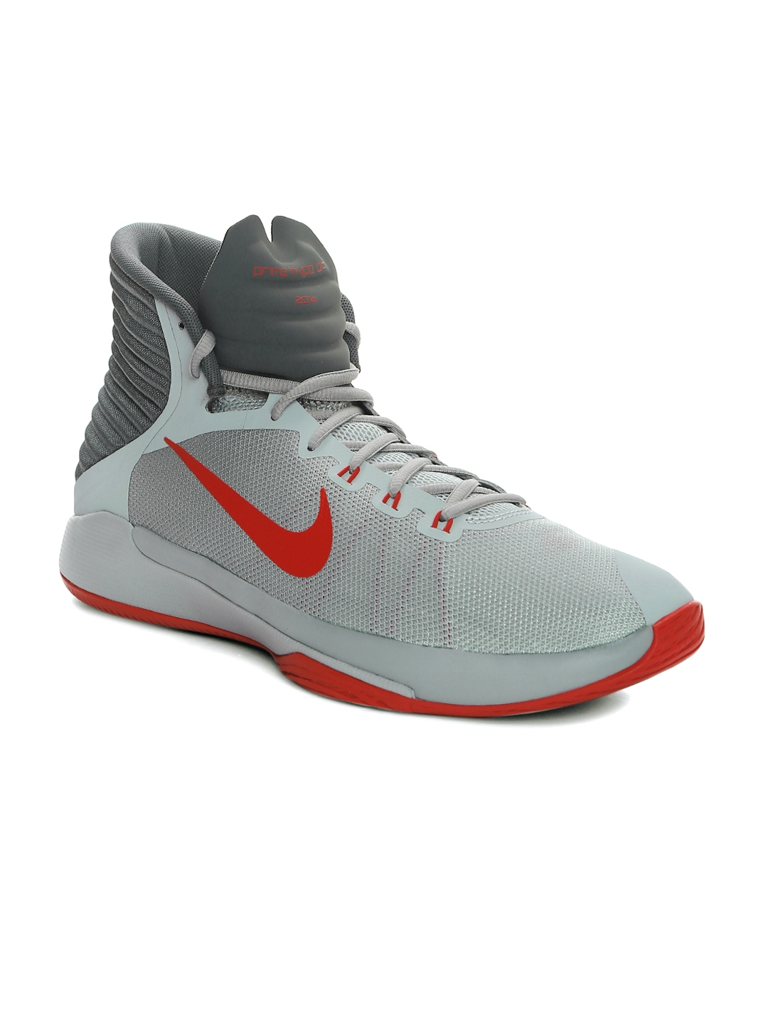 competitive price 0c577 ee0a1 Nike Men Grey Prime Hype DF 2016 Basketball Shoes