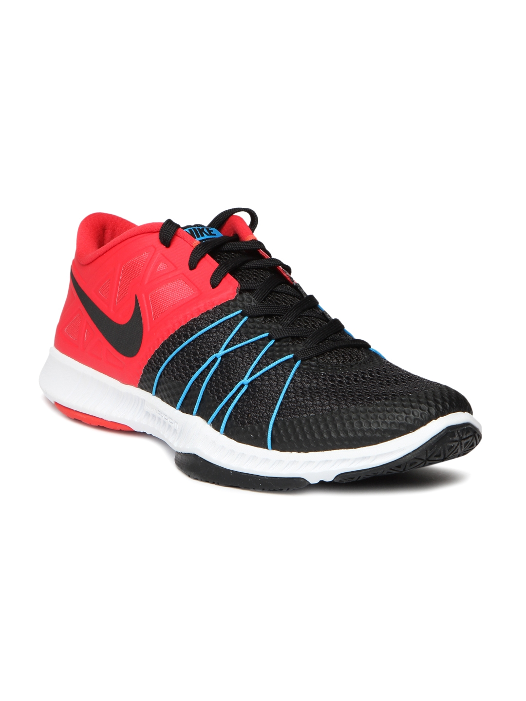 1a12d6ef3548 Buy Nike Men Black   Red Training Zoom Train Incredibly Fast Shoes ...