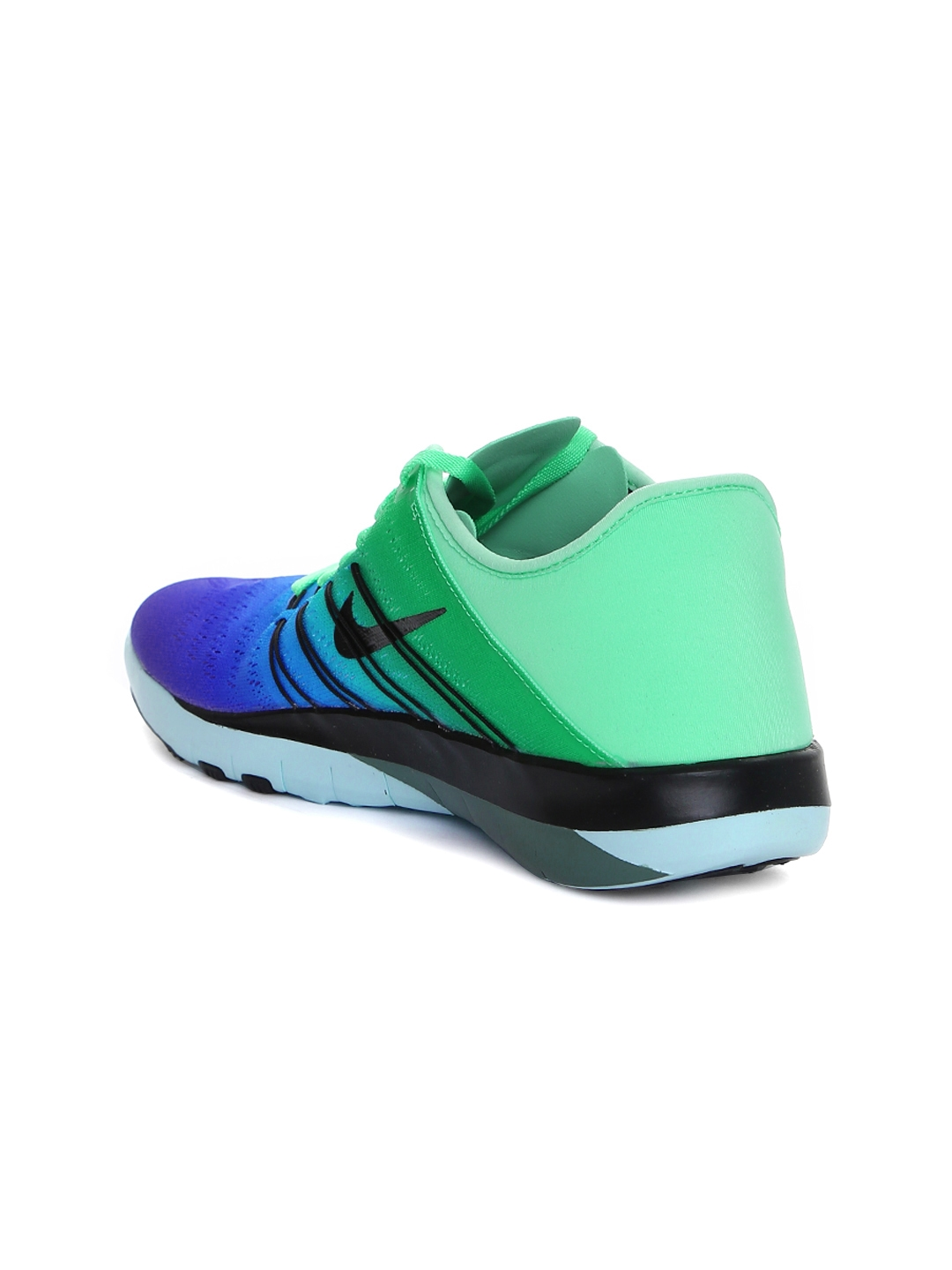 6d26cb244a0f8 Buy Nike Women Blue   Green Free TR 6 Training Shoes - Sports Shoes ...