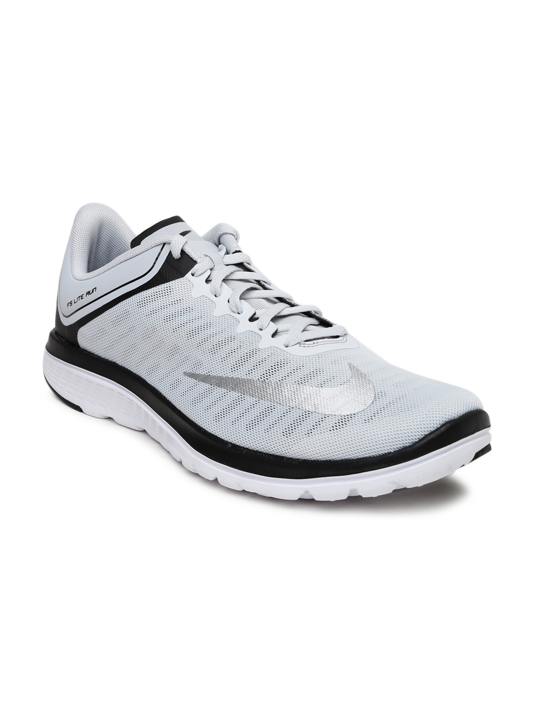 huge discount 117f7 b8c73 Buy Nike Men Grey FS LITE RUN 4 Running Shoes - Sports Shoes for Men ...