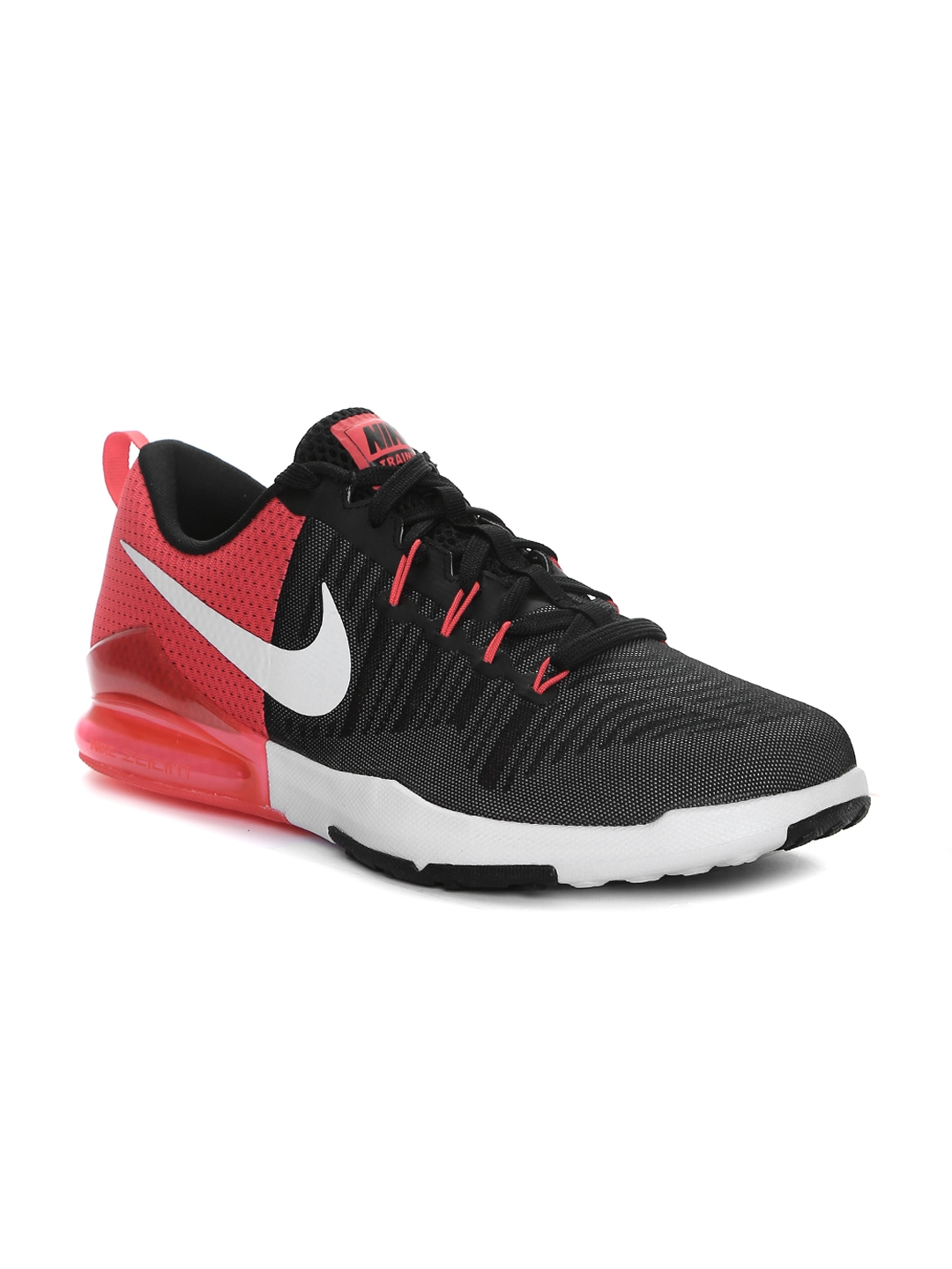 Nike Men Black & Red Zoom Train Action Training Shoes