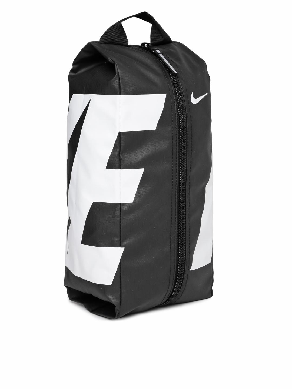 c050746bdf0a Buy Nike Men Black   White Printed Alpha Adapt Shoe Bag - Travel ...