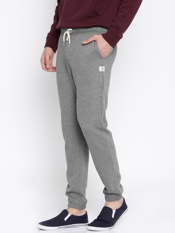 f4f323e2 Buy DC Grey Track Pants - Track Pants for Men 1548581 | Myntra
