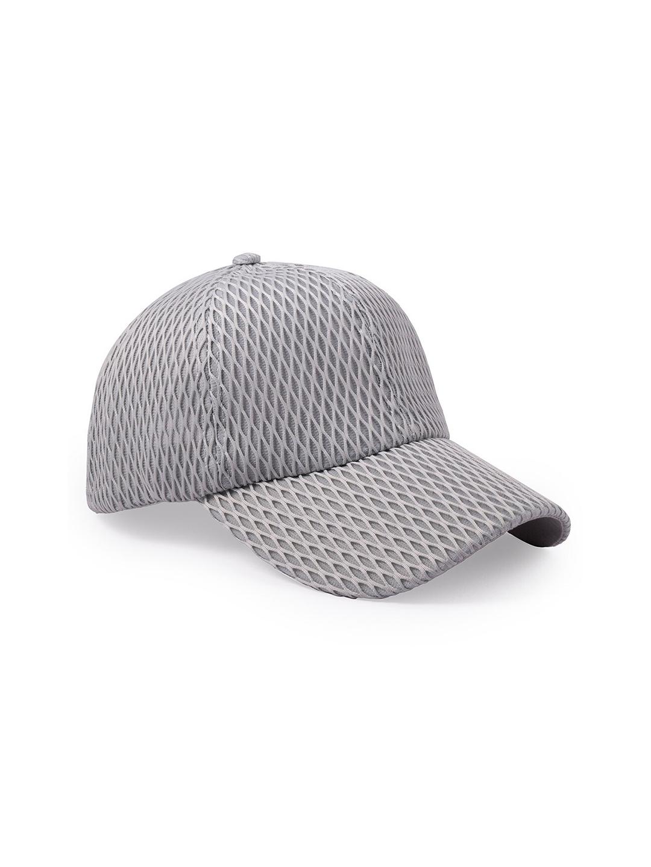 BANGE Grey Self Design Baseball Cap