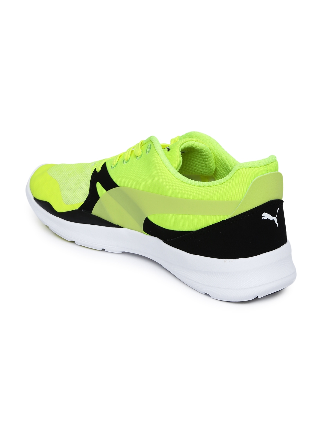 4cfbc843a02841 Buy Puma Men Neon Green Duplex Evo Sneakers - Casual Shoes for Men ...