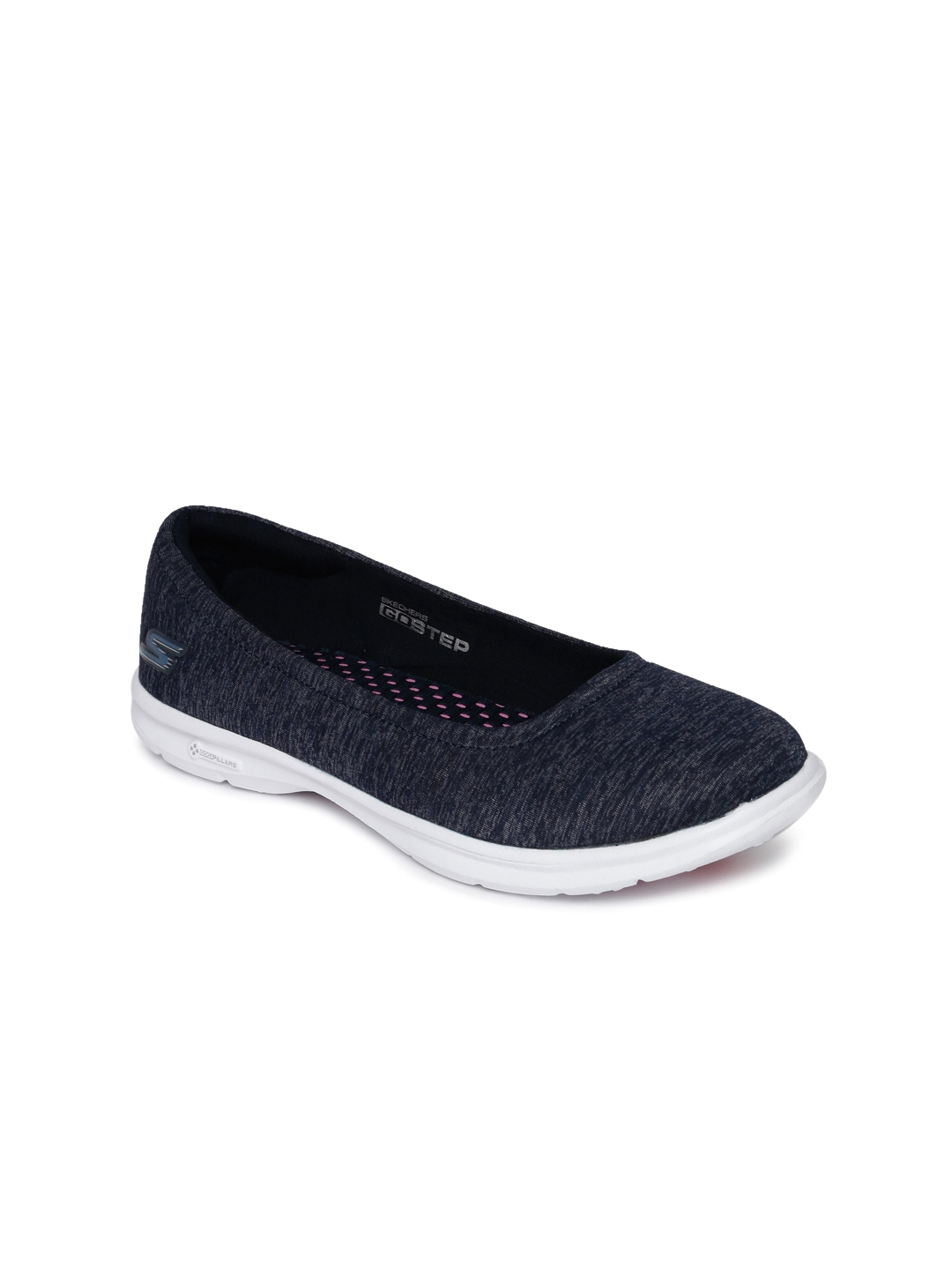 1807321022a Buy Skechers Women Navy Blue Go Step Walking Shoes - Sports Shoes ...