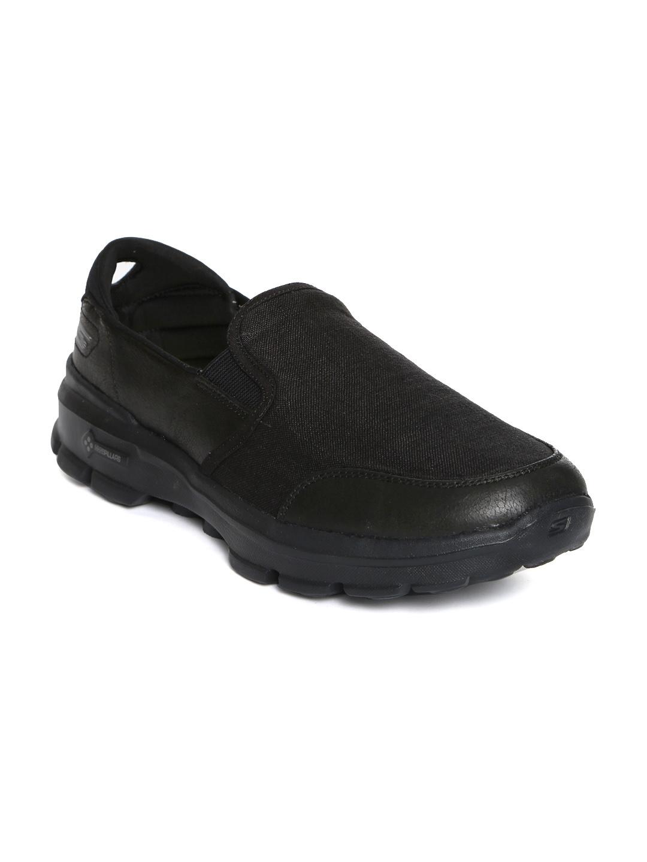 Buy Skechers Men Black GO Walk 3 Shoes