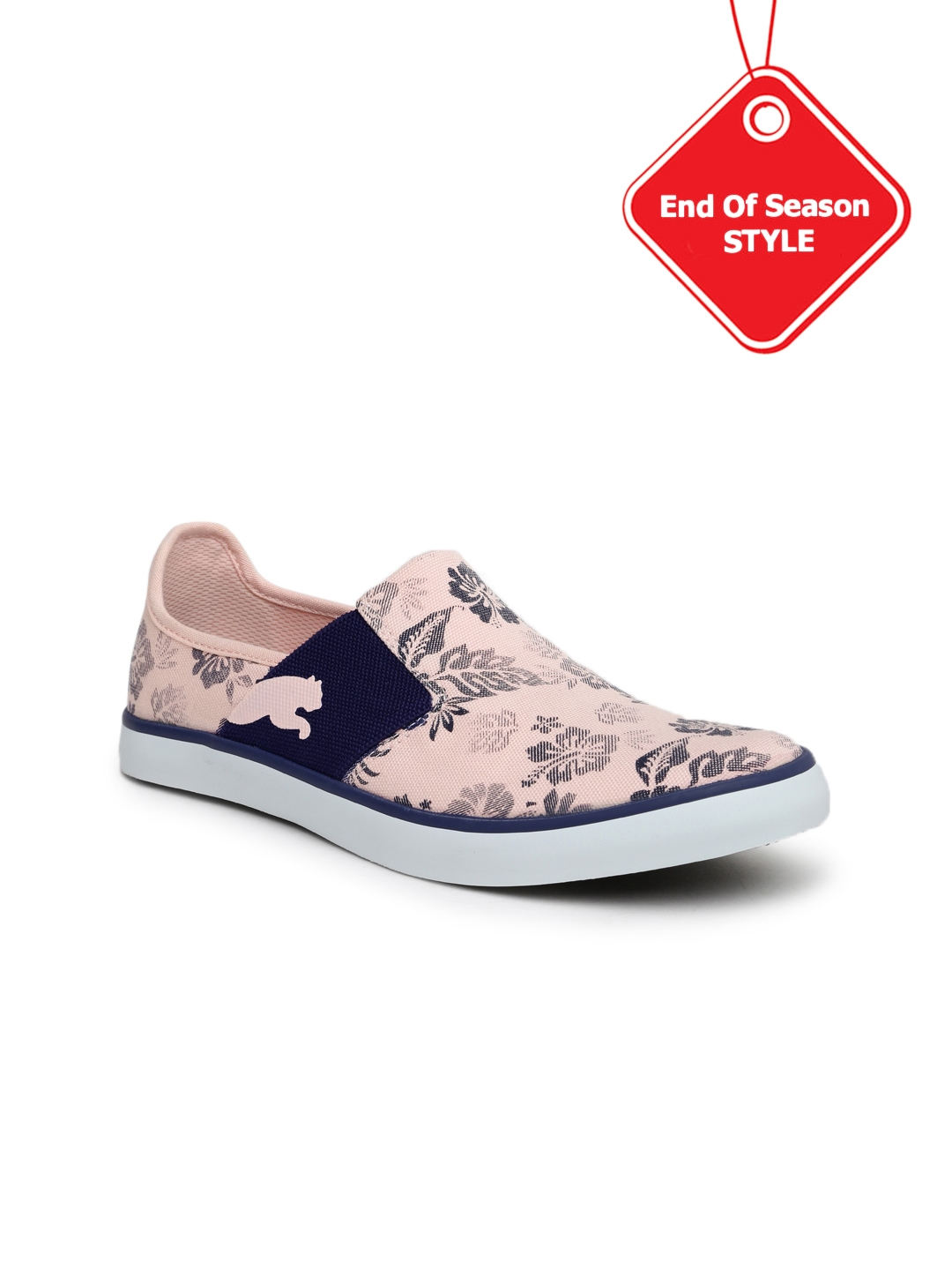 Buy PUMA Women Pink Printed NU Ballet Slip Ons - Casual Shoes for ... 19c3c87c9