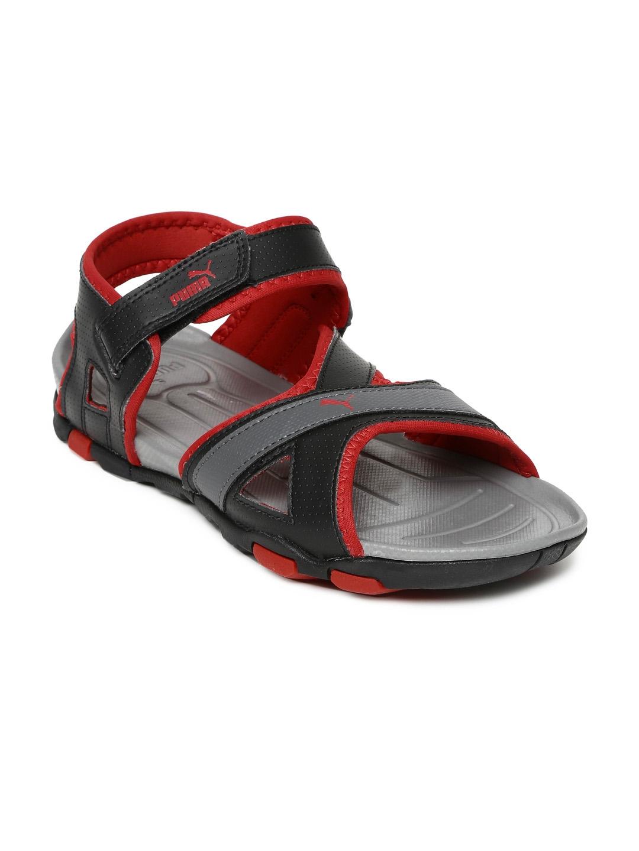 6d0febe68ae8 Buy PUMA Men Black Gadwall II DP Sports Sandals - Sports Sandals for ...