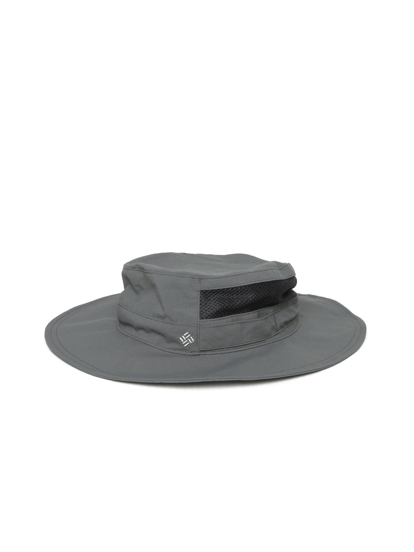 f71e32898bd Buy Columbia Unisex Charcoal Grey Bora Bora Booney Hat - Hat for ...