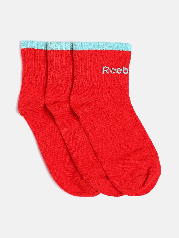 Reebok Men Assorted Pack of 3 Socks Low Cut Socks