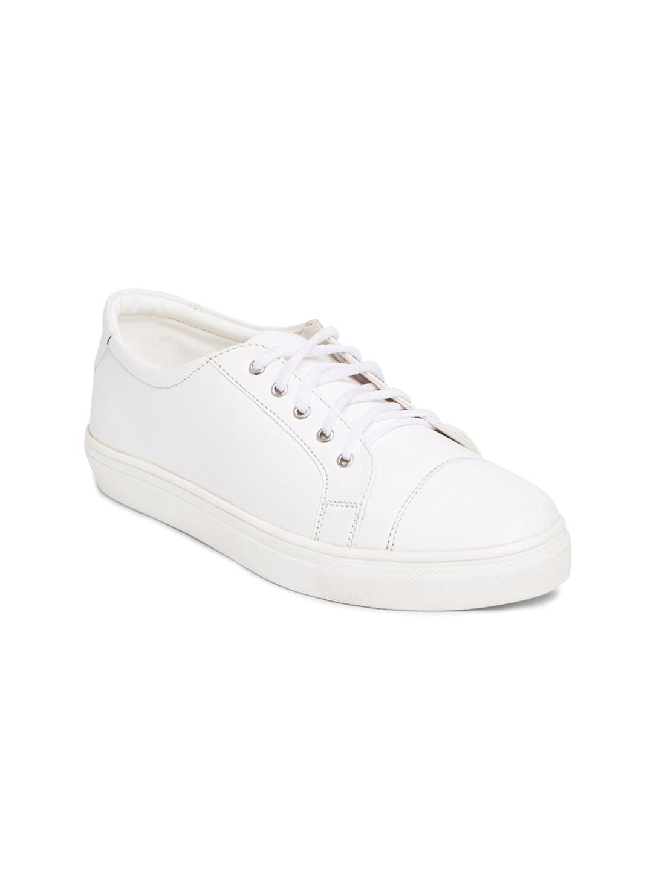 e0bdaa518 Buy Marc Loire Women White Solid Regular Sneakers - Casual Shoes for Women  1570026