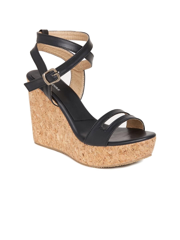 3d1af9335 Buy Marc Loire Women Black Solid Wedges - Heels for Women 1570043 ...