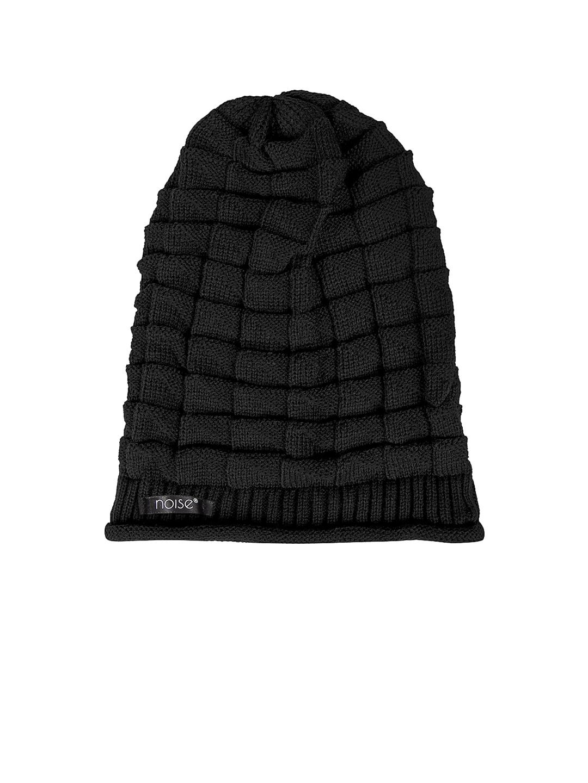 Buy NOISE Unisex Black Beanie - Caps for Unisex 1573784  f882b3b25e0