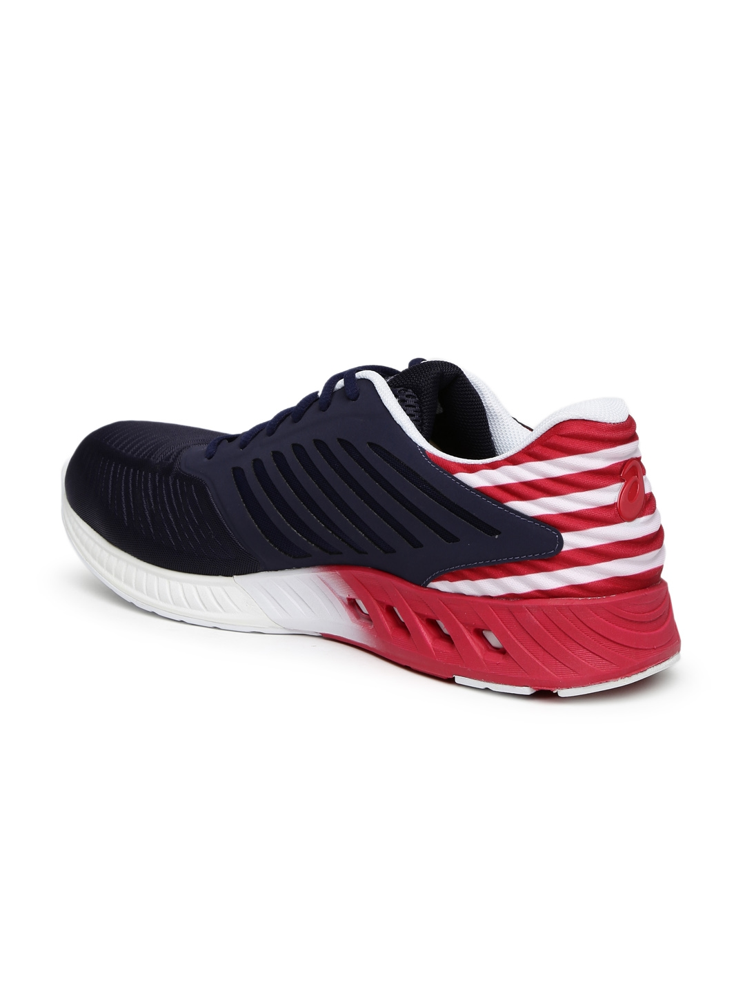 64b00143f8c2 Buy ASICS Unisex Navy   Red FuzeX Country Pack Running Shoes ...