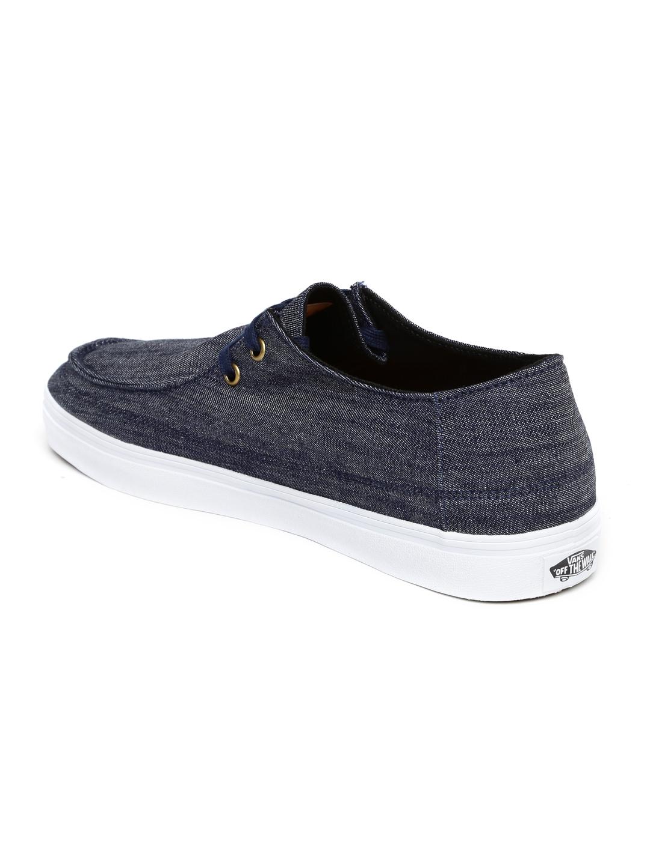 Buy Vans Men Navy Rata Vulc SF Denim Sneakers - Casual Shoes for Men ... 83e56728c