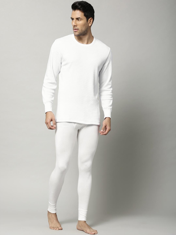 6b217c92732e Buy Marks & Spencer Men White Cotton Rich Thermal T Shirt 8804N ...
