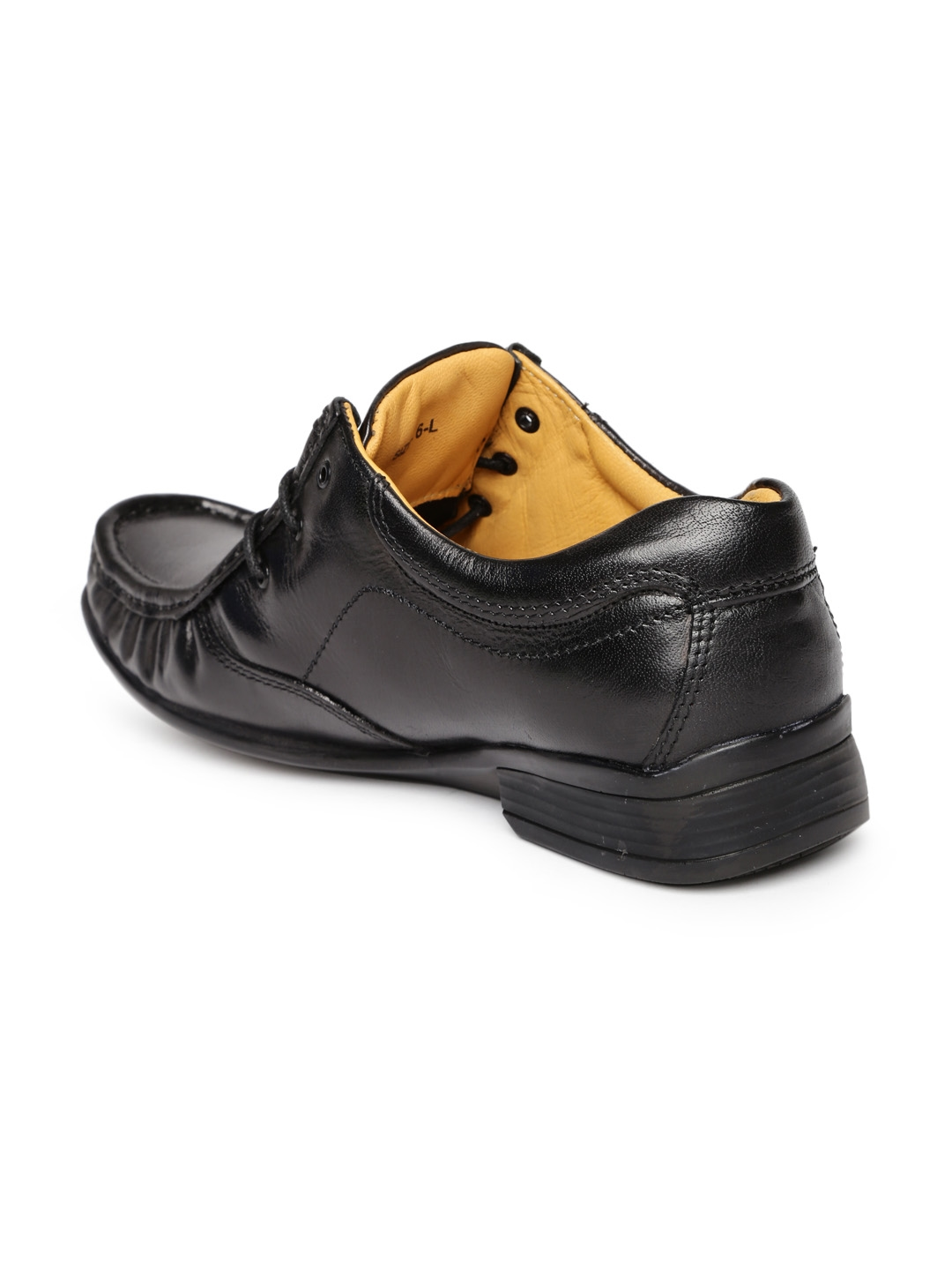 Buy Red Chief Men Black Leather Semiformal Derby Shoes Formal