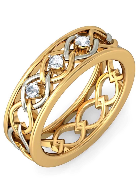 BlueStone 2.644 g 14KT Gold Ciara Ring for her with Diamonds BlueStone Ring Diamond