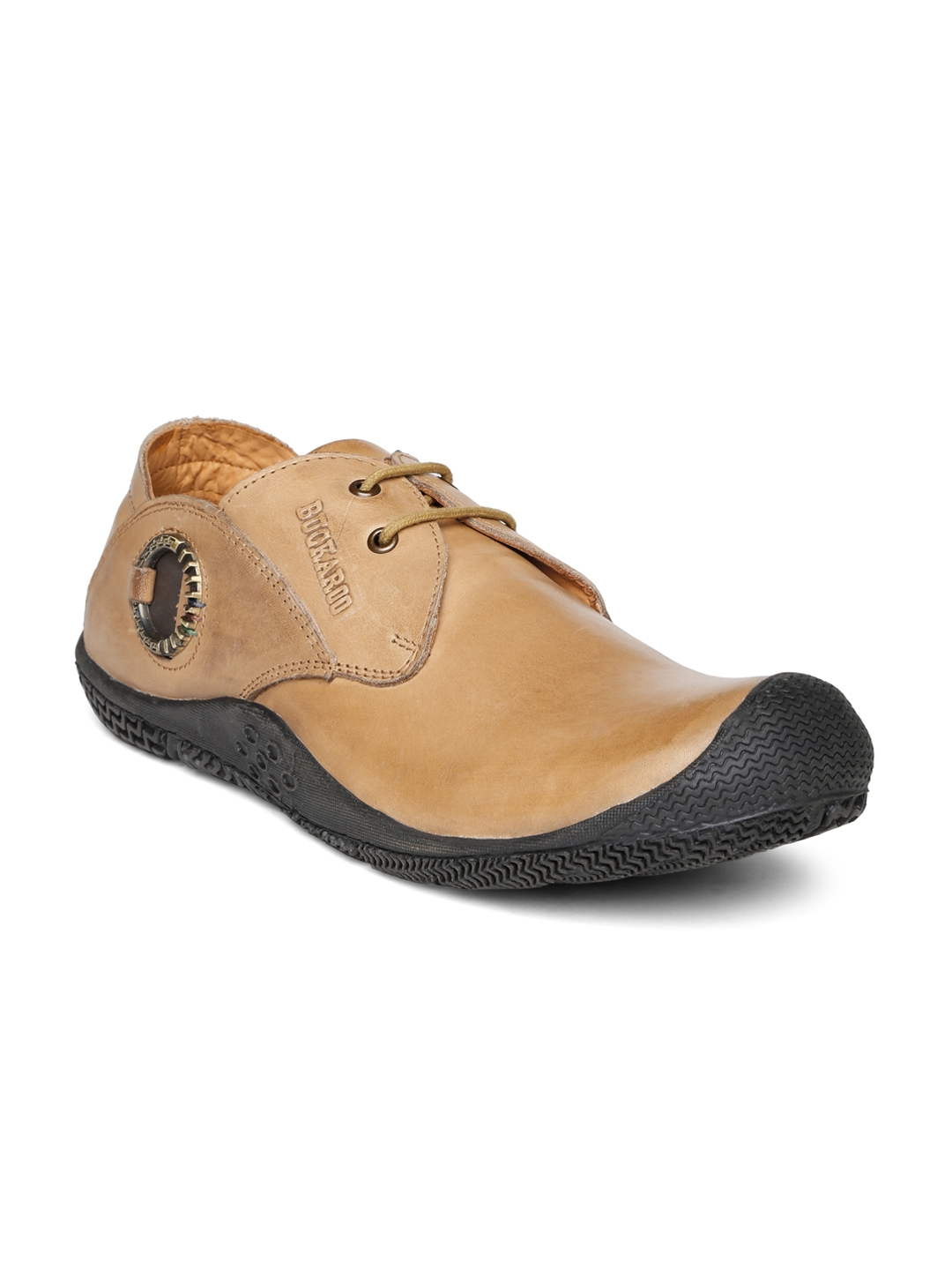 5e0b891156d Buy Buckaroo Men Brown Leather Casual Shoes - Casual Shoes for Men ...