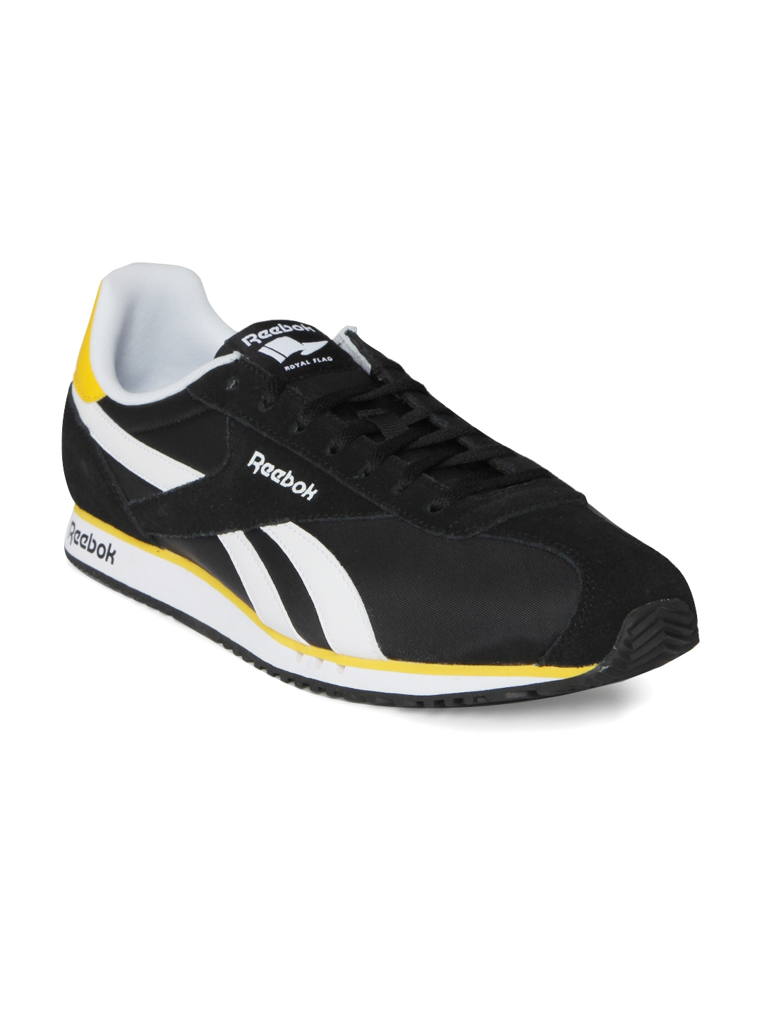 29c3d830dfbb3 Buy Reebok Men Black Royal Alperez Dash Running Shoes - Sports Shoes ...